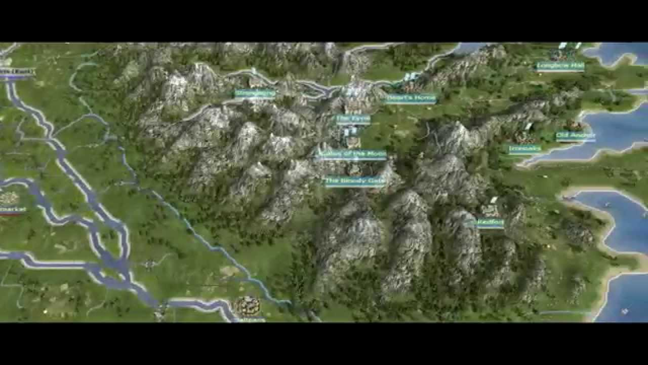 Westeros: Total War 1.0 - Map Preview - YouTube