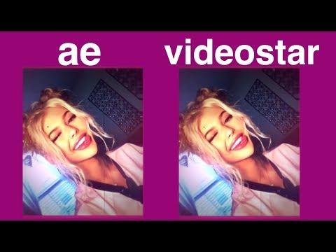 AE vs VIDEOSTAR // recreating an AE edit on VIDEOSTAR💞