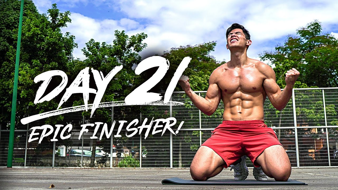Day 21 - The Epic Finisher!