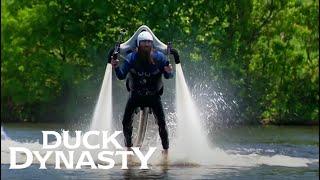 Duck Dynasty: Willie's Jetpack Adventure (Season 6, Episode 9) | A&E