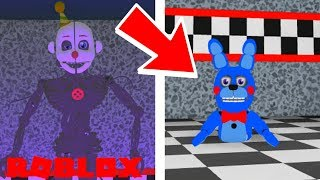 ENNARD, BONNET, BON BON, AND MORE ADDED in Roblox Circus Baby's Pizza World Roleplay
