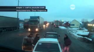 Видео дорожной драки между автовладельцами