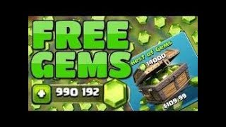GET FREE GEMS FOR CLASH OF CLANS !! (100 % legal and working)