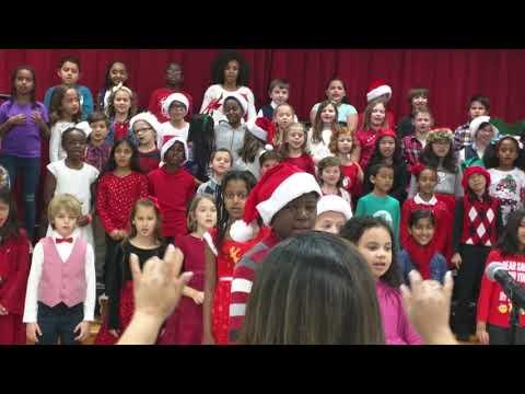 Christmas Performance! 3 rd Grade Groves Elementary School.TX