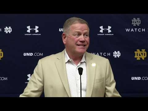 Brian Kelly Press Conference Wake Forest