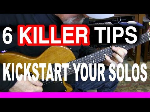 Six Killer Tips | Kickstart Your Solos | Tim Pierce | Guitar Lesson | Learn To Play