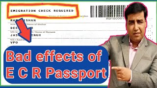 Bad effects of ECR Passport || exclusive for 2020