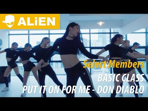 Put It On For Me - Don Diablo ft. Nina Nesbitt   Euanflow Choreography   Basic Class