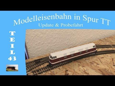 Modelleisenbahn in Spur TT - Teil 43 - Update & Erste Probefahrt