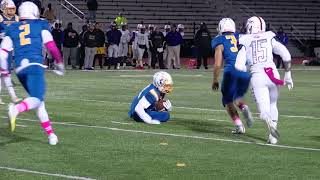 Highlights: Section V Football Irondequiot vs. East