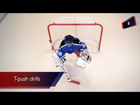 Hockey Goalie Drills Improve Your Skills By Training On Synthetic Ice