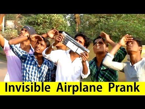 Invisible AIRPLANE Prank! | Desi Boys Style | OYE TV