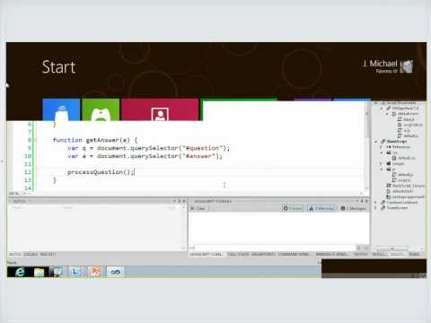 Building Metro Style Apps Series What HTML Developers Need To Know About Coding Windows 8 Metro Style Apps Level
