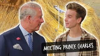 THATCHING WITH PRINCE CHARLES