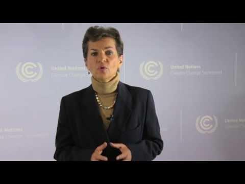 UNFCCC Executive Secretary video address to Oslo REDD Exchange 2013