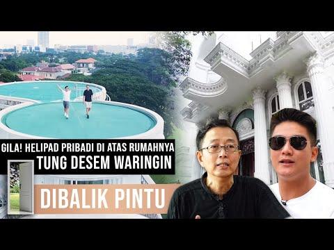 GILA! HELIPAD PRIBADI DI ATAS RUMAHNYA SENDIRI! TUNG DESEM WARINGIN | #DibalikPintu