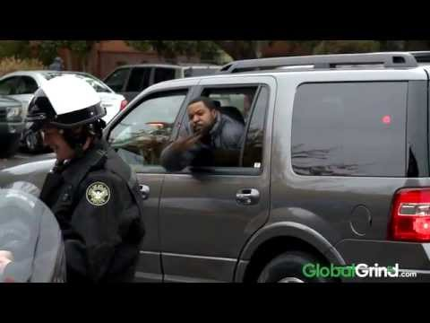 ice cube starts a drive by snap war with kevin hart on set of ride along youtube. Black Bedroom Furniture Sets. Home Design Ideas