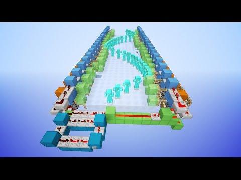 Minecraft: Armor Stand Wave Machine!