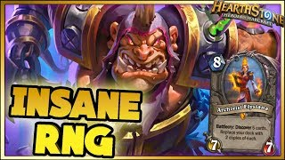 INSANE RNG - Hearthstone - WTF Moments - Daily Funny Rng Moments