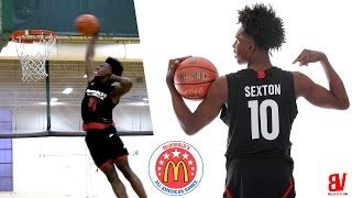 Collin Sexton McDonald's All-American Practice FULL HIGHLIGHTS + DUNK CONTEST
