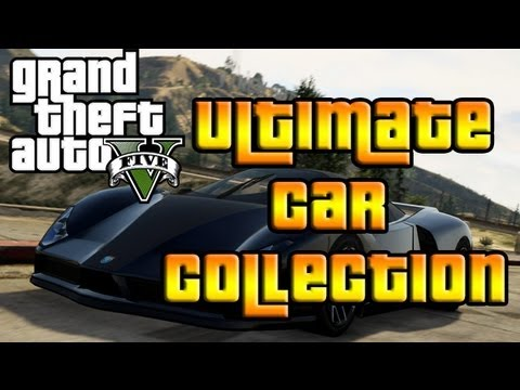 Gta 5 Ultimate Car Collection Feat 10 Million Dollar