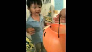 Halloween Candy Dispenser Using Ollo