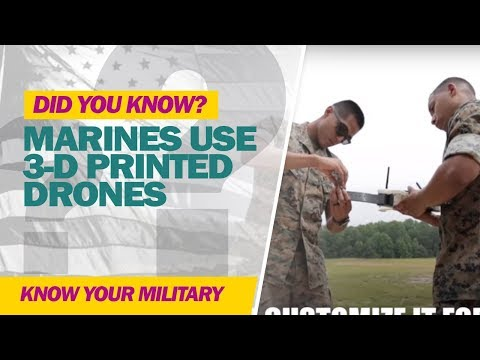 Marine Corps 3D Printed Drones