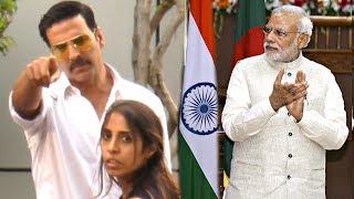 Akshay Kumar's Reaction On Toilet Ek Prem Katha Promoting Narendra Modi's Government