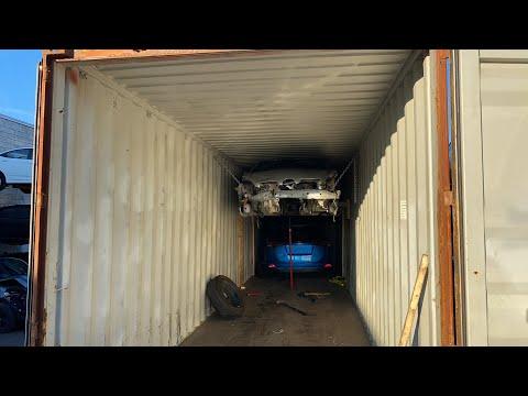 5 авто и 2 мотоцикла в 1 контейнер. Авто из США в КАЗАХСТАН 🇰🇿.