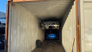 5 авто и 2 мотоцикла в 1 контейнер. Авто из США в КАЗАХСТАН