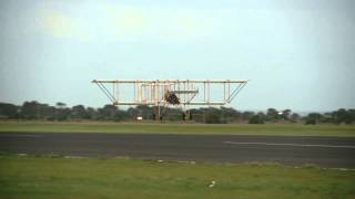Bristol Boxkite replica flight testing