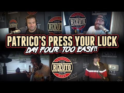 Patrico's Press Your Luck Day 4: Star Wars? Geometry? Trigonometry? Too easy? [Rizzuto Show]