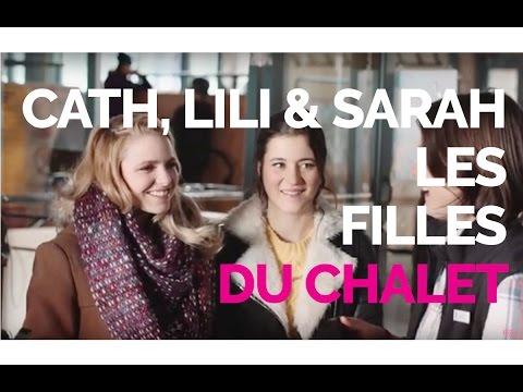 Cath, Lili et Sarah:  On rencontre les filles du Chalet sur leur plateau de tournage  Tapis rose