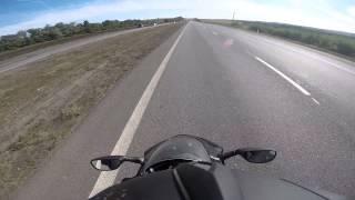 Клин заднего колеса на 200 км/ч