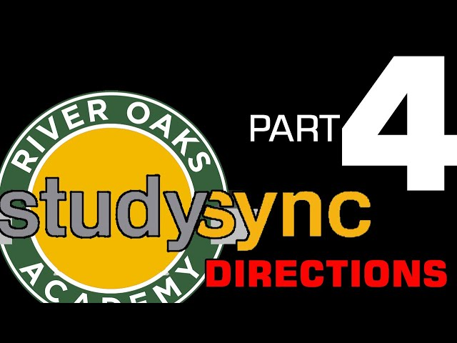Studysync Directions Part 4 - TV & Think Questions