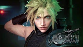 Final Fantasy VII Remake - Gameplay Trailer PSX 2015 @ 1080p HD ✔