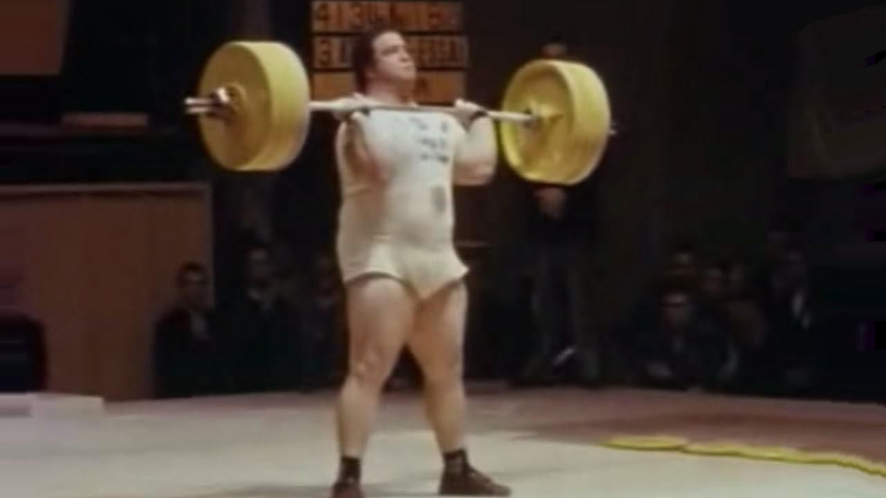 1956 Olympic Weightlifting.