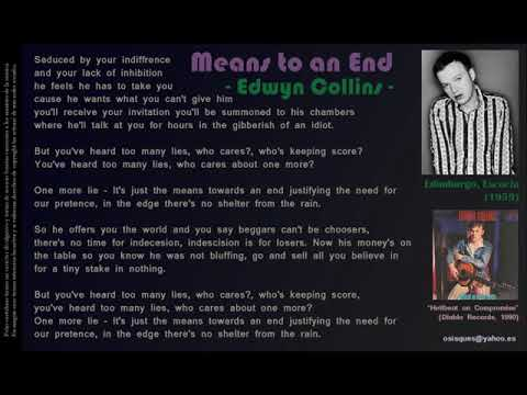 Means to an End - Edwyn Collins