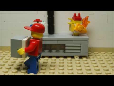 Lego Fidget Spinner | Stop motion | Animation | Brickfilm