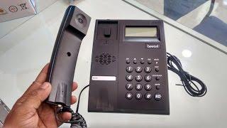 Unboxing Budget Landline Phone (Beetel M51) Hands On