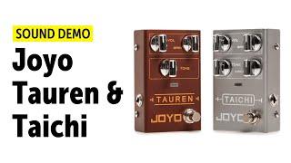 Joyo Tauren & Taichi - Sound Demo (no talking)