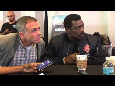 David Eigenberg and Eamonn Walker p what comes next in