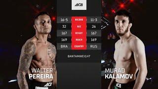 ACA 124: Валтер Перейра vs. Мурад Каламов | Walter Pereira Jr. vs. Murad Kalamov
