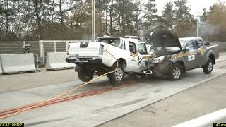 Car to Car crash test demonstrates double standard on vehicle safety in Africa