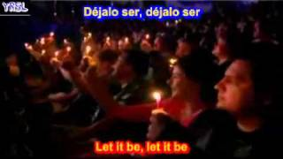 Let it be   The Beatles SUBTITULADO ESPAÑOL INGLES