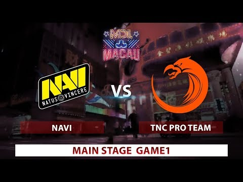 Na'Vi vs. TNC | Game 1 | Day 2 | Mars Dota League | Group Stages
