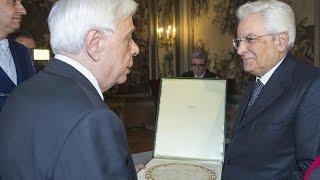 «Στην Ελλάδα και την Ιταλία στηρίζεται το αέτωμα της Ευρώπης»
