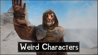Skyrim: 5 Weirdest and Strange Characters in The Elder Scrolls 5: Skyrim