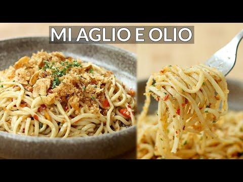 seenak-pasta-restoran!-resep-mie-aglio-e-olio-[iya-betul,-pakai-mie]