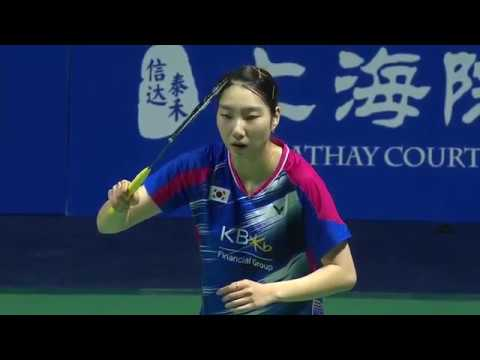 Thaihot China Open 2016 | Badminton SF M5-WS | Pusarla V. Sindhu vs Sung Ji Hyun